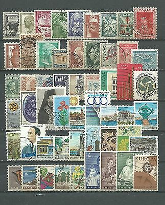 Greece, 54 Various, Used