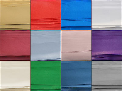 Double Sided Satin Ribbon Double Faced 25 mm (1,20,40,60 Metre Lengths)