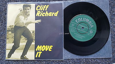 Cliff Richard - Move it/ Schoolboy crush 7'' Single UK 1982