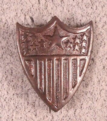 Army Officer Collar Pin:  Adjutant General - WWI, pin back