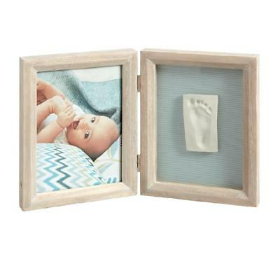 Baby Art My Baby Touch Wooden Frame (Stormy) 1-piece - create a lasting keepsake