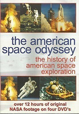 The American Space Odyssey [DVD] - DVD  UUVG The Cheap Fast Free Post