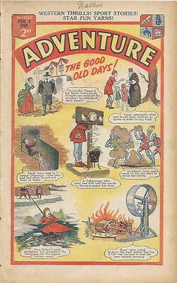 Adventure   Comic   No 1152   9th  February   1946