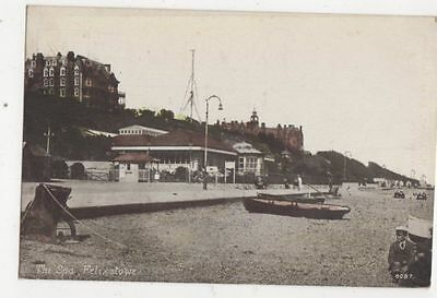 The Spa Felixstowe 1921 Postcard 492a