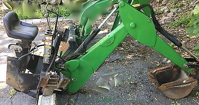 John Deere Model 48 Backhoe with Mounting Brackets 4 4300 4300 4500 +