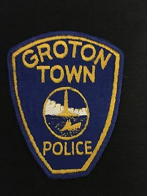 Groton Connecticut  Police  Shoulder Patch