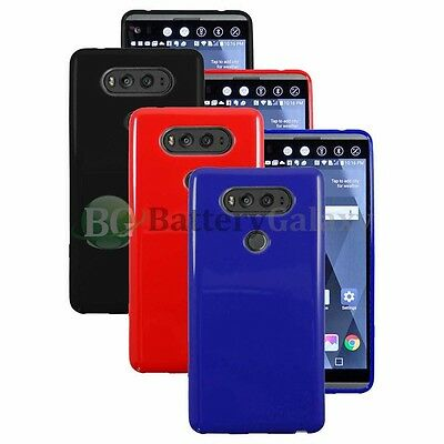 Lot of 3 Black/Blue/Red Slim Candy Glossy Case Cover Skin for Android LG V20 HOT