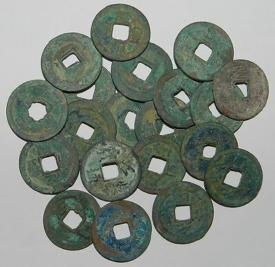 CHINA : 20 X OLD CASH COINS  11th Century A.D. Northern Sung