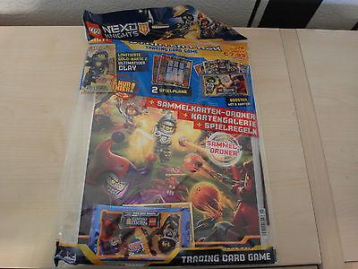 Lego Nexo Knights Starter Pack Trading Card Game (Folder, limited Clay )