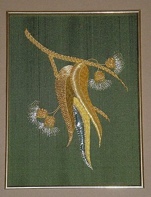 Alison Cole Thai Waterlilly Goldwork//Stumpwork//Embroidery Pattern
