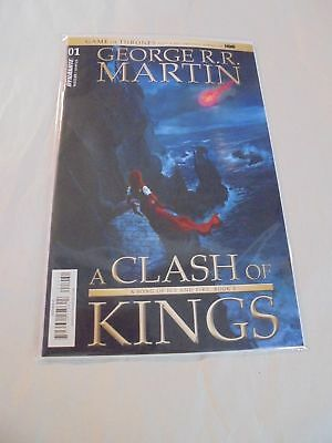 Game of Thrones A Clash of Kings #1 C Cover Dynamite NM Comics Book Game Throne