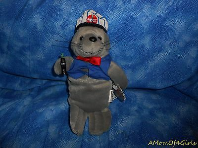 "Coca-Cola SEAL 8"" Beanbag Plush Toy"