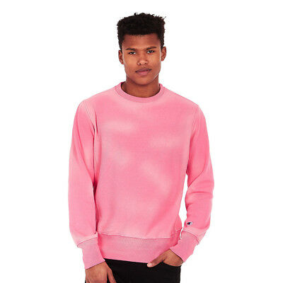 Champion - Crewneck Reverse Weave Enzyme Washed Sweatshirt Confetti Pink