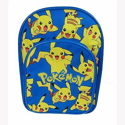 Pokemon Pikachu Backpack Rucksack School Bag New *uk Seller*