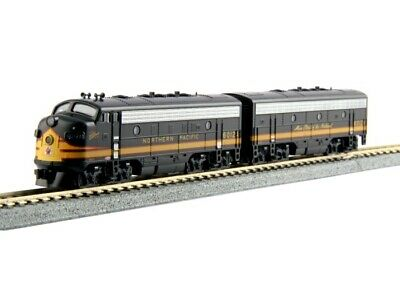 Kato 1060422 N Scale EMD F7 Freight NP #6012A / 6012B DCC Ready Locomotive