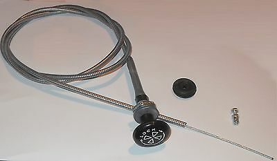 LOCKING CHOKE CABLE &Grommet Wire Clamp for HS4 on MGBGT MGB GT Roadster 1970-72