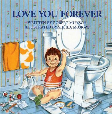 Love You Forever by Robert N. Munsch (English) Hardcover Book Free Shipping!