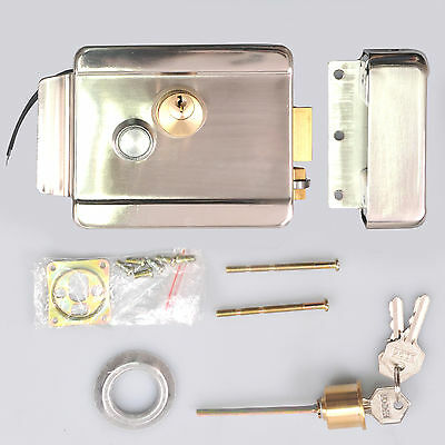 Security Electric Lock Key Button Entry 12V For Door Access Control System Kit