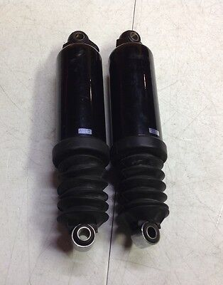 "97-15 Harley Touring 12"" lowering Rear Shocks Air Ride Road Street Ultra Glide"
