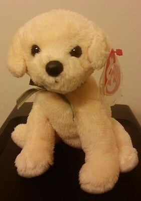 Ty Beanie Baby ~ BOUNDS the Dog ~ MINT with MINT TAGS ~ RETIRED