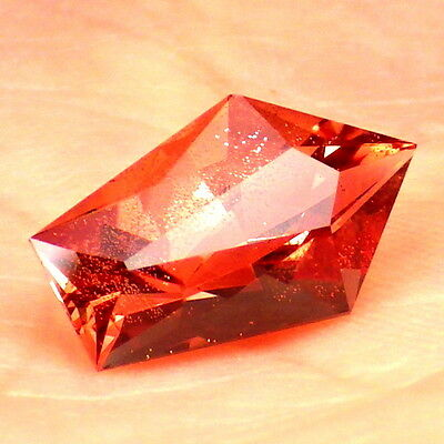 RED SCHILLER OREGON SUNSTONE 3.05Ct FLAWLESS-FROM PANA MINE-FOR TOP JEWELRY!