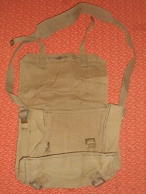 Great Britain:-   Wwii - Small Backpack Haversack   Wwii