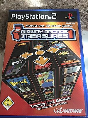 Midway Arcade Treasures (Sony PlayStation 2, 2004, DVD-Box)
