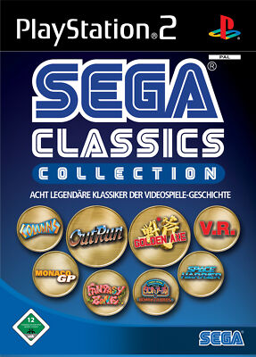 Sega Classics Collection (Sony PlayStation 2, 2006, DVD-Box)