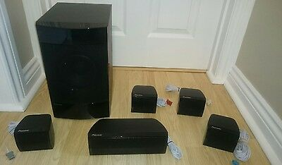 Pioneer Smx1129 A Sub + Smx1136 B 5.1 Ch Surround Sound Home Cinema Speaker Set