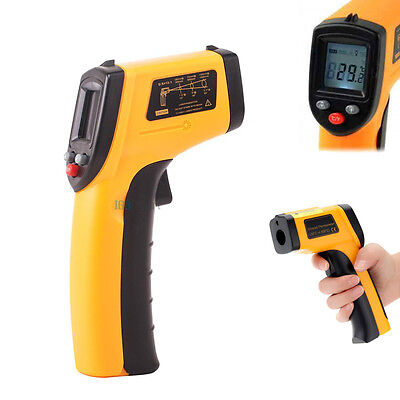 Digital Handheld Temperature Heat Gun Sensor Laser Infrared IR Thermometer ℃/℉
