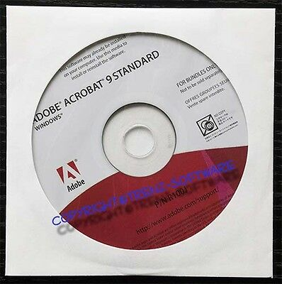 Adobe Acrobat 9 Standard Windows deutsch - DVD-Version - incl. MwSt.