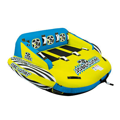 NEW 2017 Jobe Lunar 3 Person Inflatable Towable FREE SHIPPING