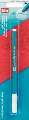 Prym Aqua Marking Pen Water Erasable Sewing Quilting Patchwork 611807