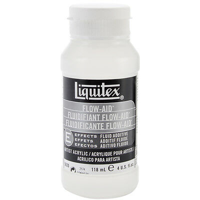 Liquitex Professional Flow Aid Effects Medium, 4-oz