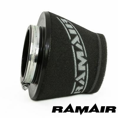 RAMAIR INDUCTION FOAM CONE AIR FILTER UNIVERSAL SHORT 80mm