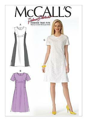 McCalls SEWING PATTERN M7169 Misses Or Womens Dresses 8-16 Or 18W-24W