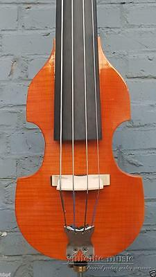 3/4 Electric Upright Double bass Yellow color Powerful Sound Solid wood #1439