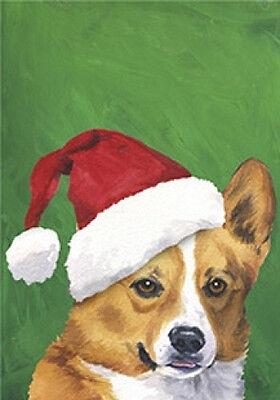 Large Indoor/Outdoor Christmas Flag BVV - Pembroke Welsh Corgi 27045