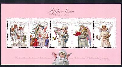 Gibraltar 2005 Christmas/Angels/Tree/Toys/Book/Dolls/Greetings 5v m/s (n36031)
