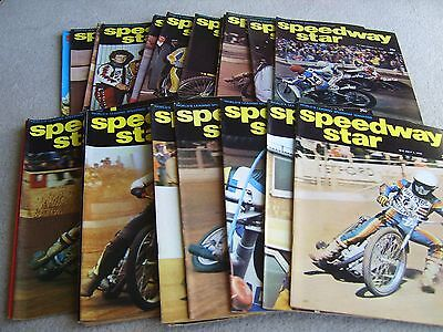 26 Consecutive editions of Speedway Star magazine 1978 July to December
