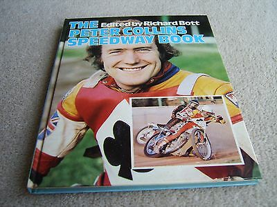 1977 HAND SIGNED The Peter Collins Speedway Book, 1st Edition hardback