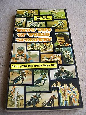 1976 Circle Industries Who's Who of World Speedway edited by Oakes & Mauger
