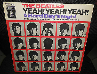 LP  THE BEATLES - A HARD DAY'S NIGHT  1969 Germany  MINT