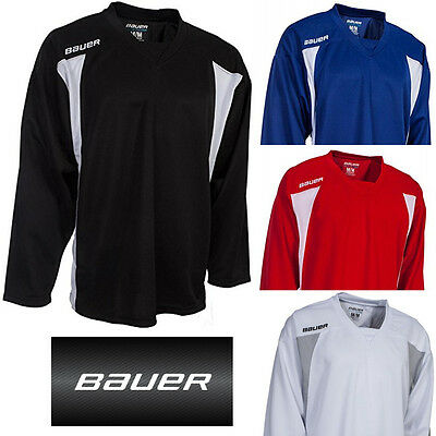 Bauer 600 Premium Ice Hockey Jersey Mens Breathable Sports Track Top
