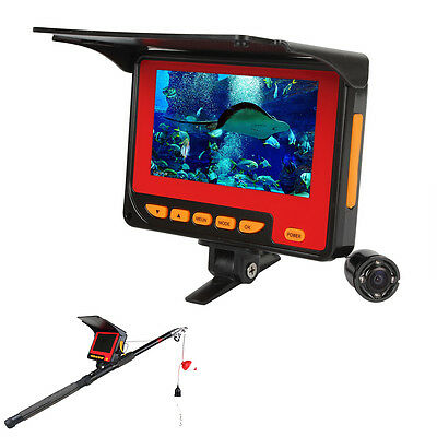 4.3Inch TFT HD 1000TV Lines 150 degrees Underwater Fishing Camera with Record