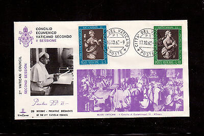 Vatican 1963 Cover, Vatican Ii Council Ecumenical Second Session !!