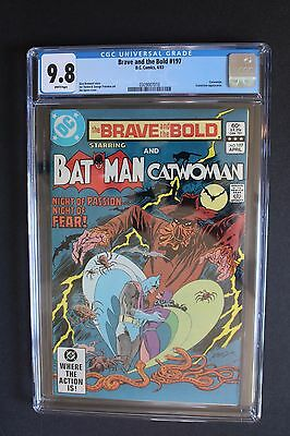 BRAVE and the BOLD #197 Scarecrow 1982 GA Batman marries CATWOMAN CGC NM/MT 9.8