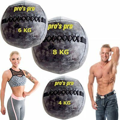 Trendiger Wall Ball Functional- / Crosstraining Workout Core- & Tiefenmuskulatur