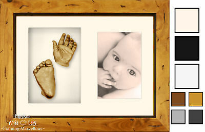 New BabyRice Anika Baby 3D Casting Kit Gift Present 3D Hand Foot Mould Casts Set