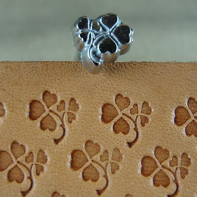 Craft Japan Leather Stamping Tool #O8-2 Four Leaf Clover Stamp